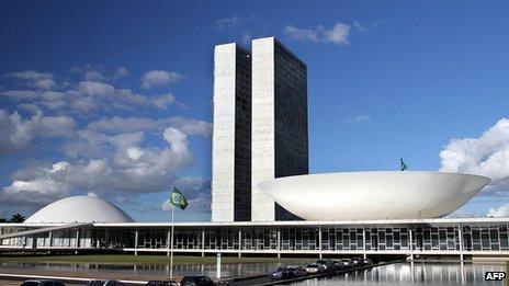 Oscar Niemeyer, Government Building, Brasilia