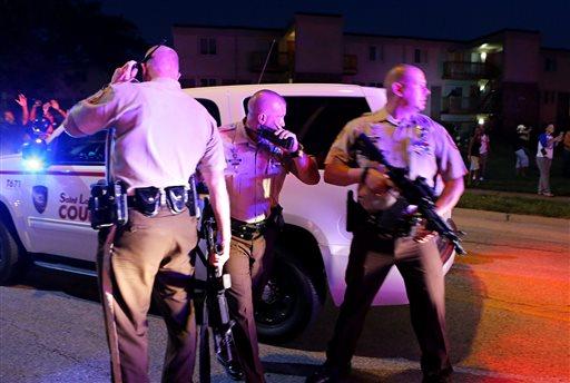 Ferguson police shooting