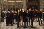 The_Lobby_of_the_House_of_Commons,_1886_by_Liborio_Prosperi_('Lib')