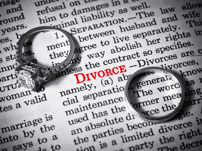 Dictionary definition of divorce